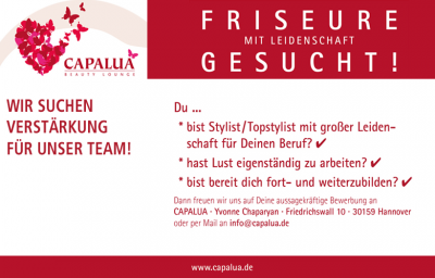 friseure gesucht capalua hannover